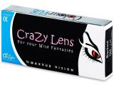 Kontaktní čočky - ColourVUE Crazy Lens - dioptrické tříměsíční