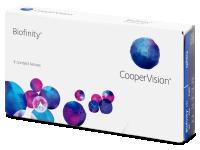 Kontaktní čočky - Biofinity