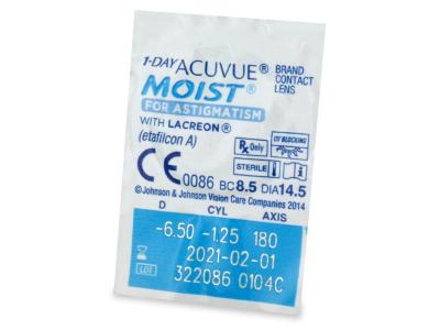 1 Day Acuvue Moist for Astigmatism (30čoček)