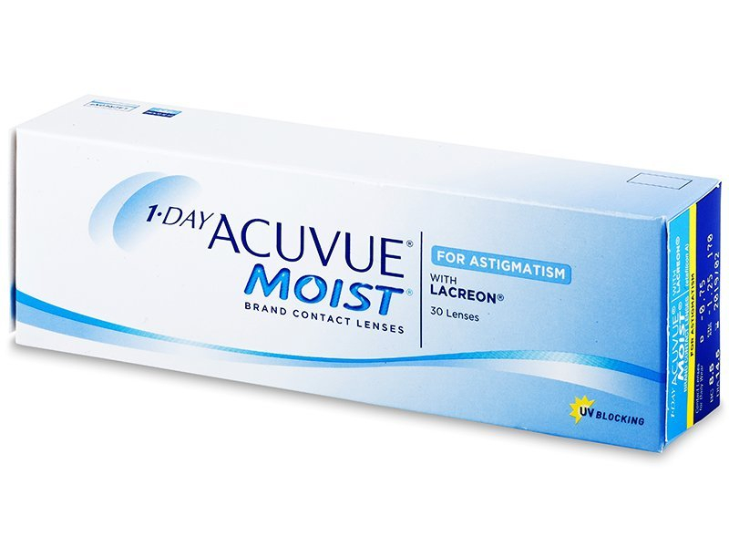 Image of 1 Day Acuvue Moist for Astigmatism (30Linsen)