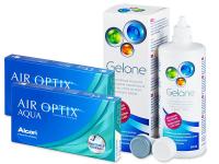 Kontaktní čočky - Air Optix Aqua